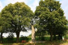 Památník husitské bitvy uHiltersriedu vroce 1433