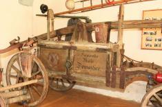 Historický hasičský vůz