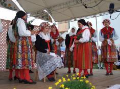 Chodské slavnosti vDomažlicích sekonají vždy víkend po10. srpnu, neboť jsou spojeny is Vavřineckou poutí.