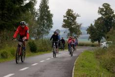 """Na cyklostezce podKlenčím (""""ukřížku""""). Foto: Bartoloměj Kobes"""