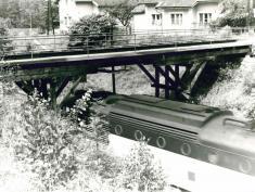 Původní akvadukt naHadrovci. Foto: archiv města Domažlice