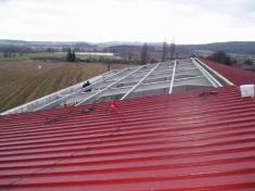 Konstrukce střechy 22.11.2004