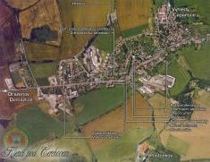Letecká mapa Klenčí podČerchovem